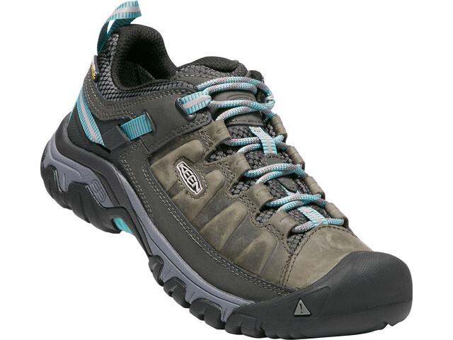 Keen W's Targhee III WP Shoes alcatraz/blue t